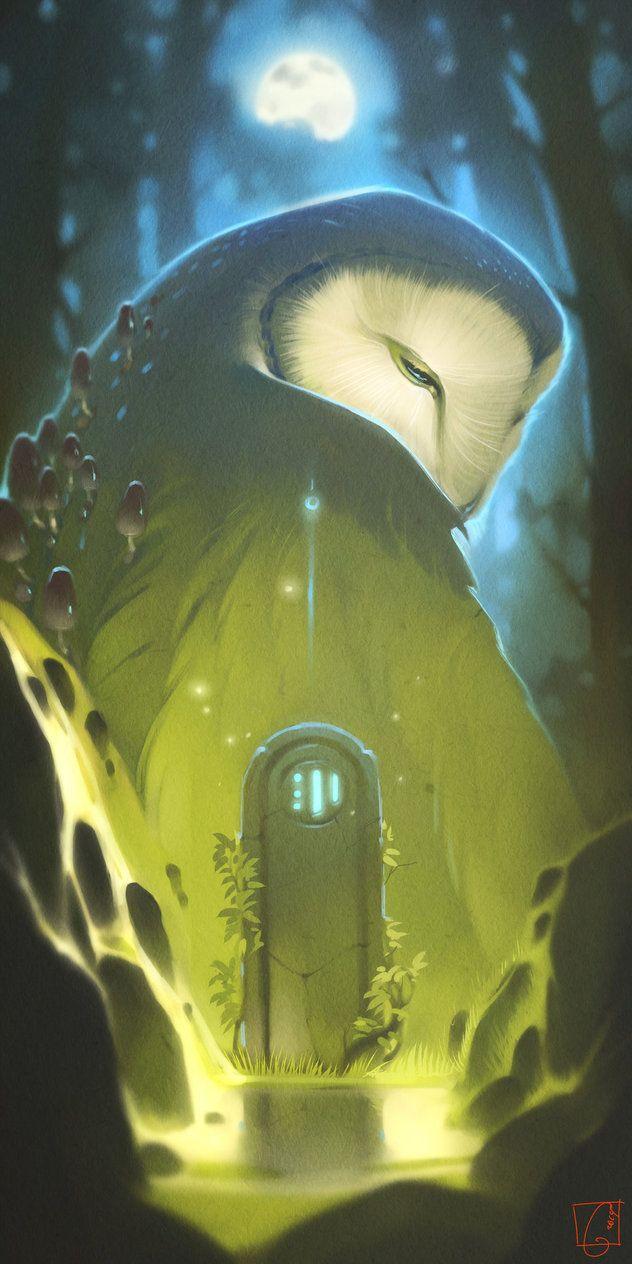 Forest Spirit by Gaudi Buendia