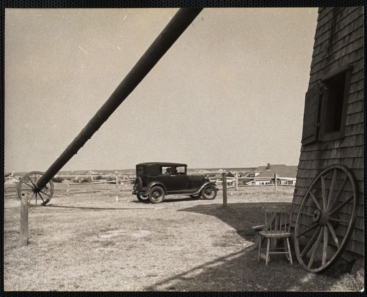 At the Old MIll, Nantucket c. 1930s. https://www.digitalcommonwealth.org/search/commonwealth:cc08hq28v  #windmill