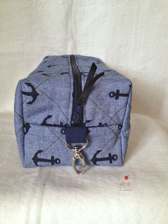 Man Toiletry bag-Medium Cosmetic bag-Toiletry by acoser2014