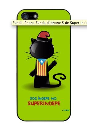 """Fundes per Iphone 4 i 5 de """"Super Indepe""""   Disponible en diversos colors per $19,90€ a la http://www.latostadora.com/mixu    #independencia #catalunya #soccatala #Iphone"""