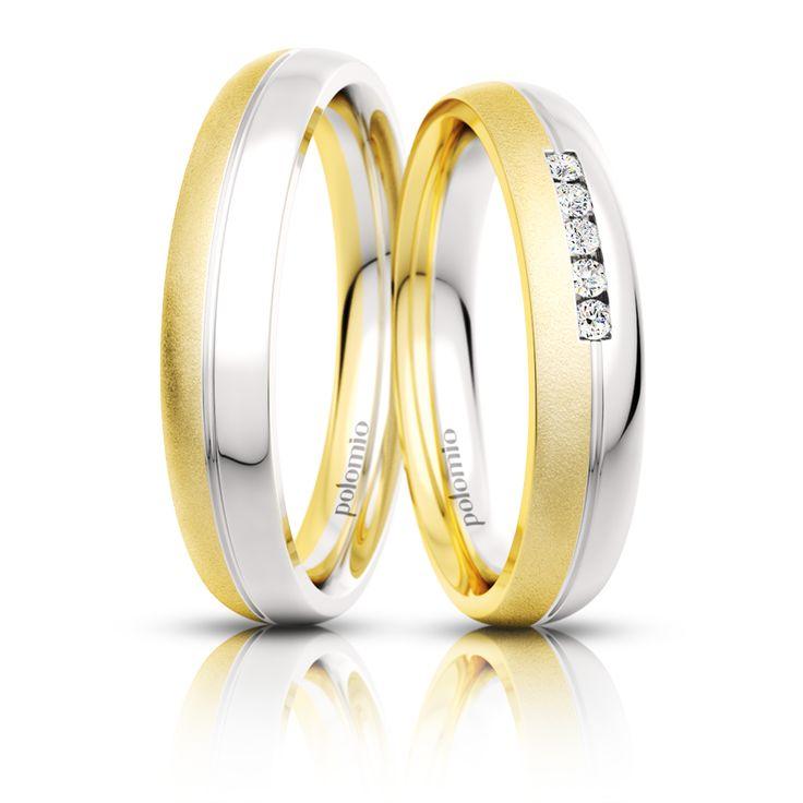 Snubní prsten Zeno duo 4-02 Polomio Jewellery
