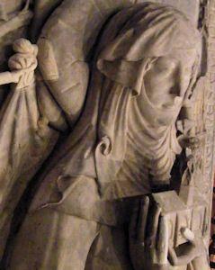 Superb Germany Baden Baden Abbey Lichtenthal Markgrafin Irmengard von Baden effigy