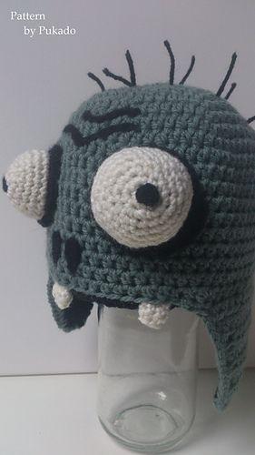 Crochet pattern Mr Zombie - Plants vs Zombies - on Ravelry