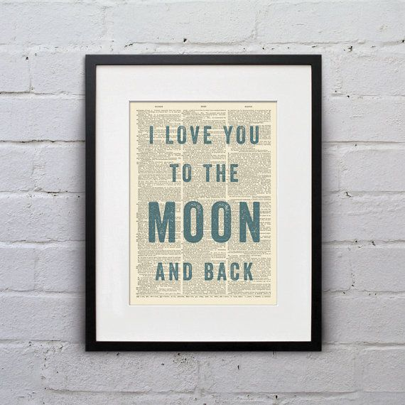 Love You To The Moon And Back - Love Quotes Pinterest