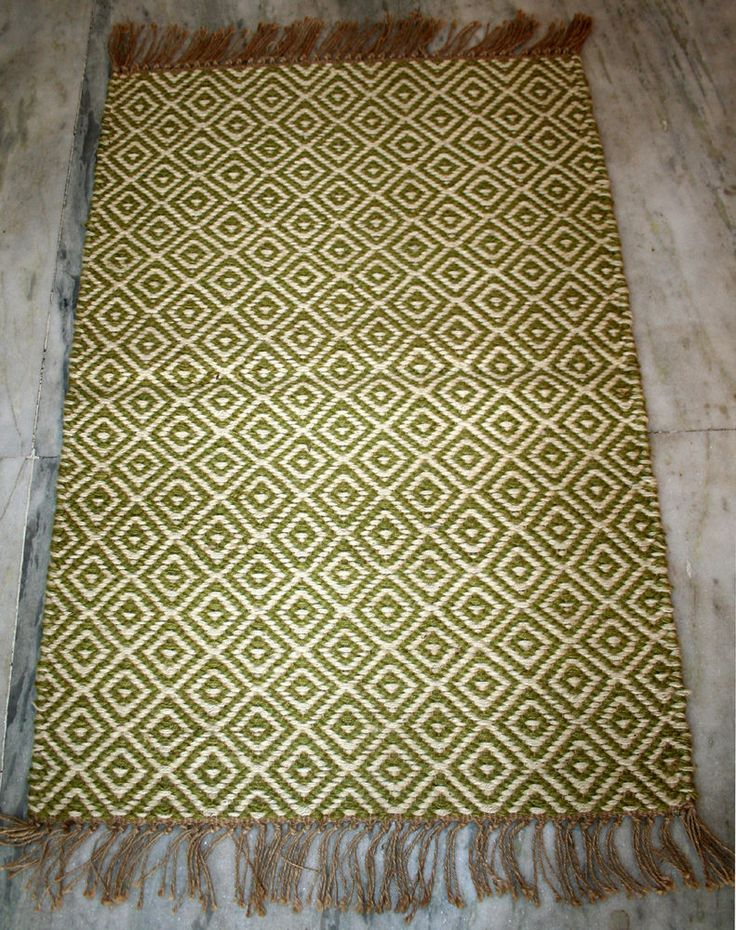 TURKISH Oriental Kilim, Area Rug, Boho Rug, 100% JUTE Hand Woven 2x3 Feet Rug #Turkish