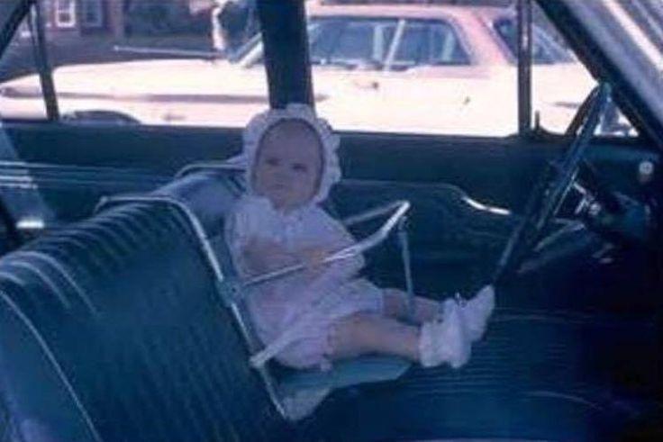 Baby seat circa 1960