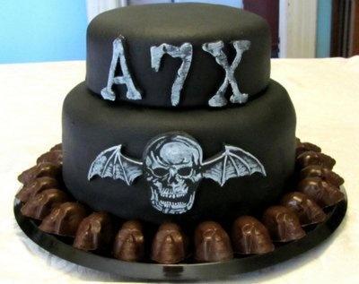 Avenged Sevenfold Birthday Cake