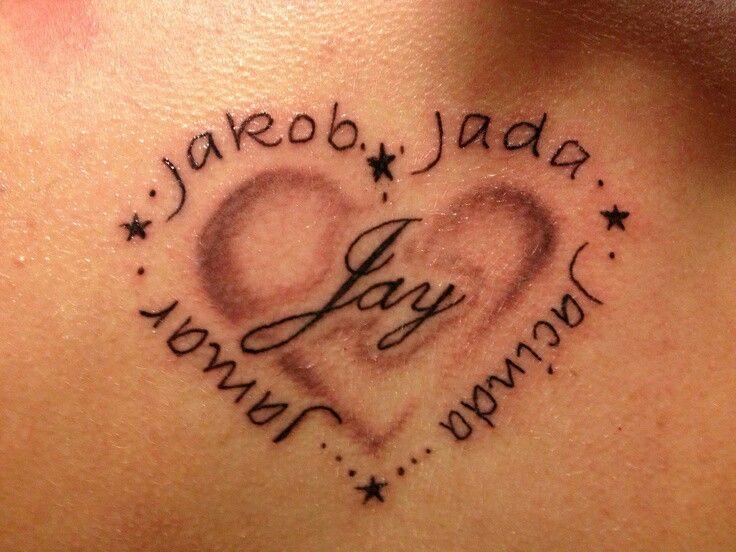 best 25 heart name tattoos ideas on pinterest tatto. Black Bedroom Furniture Sets. Home Design Ideas