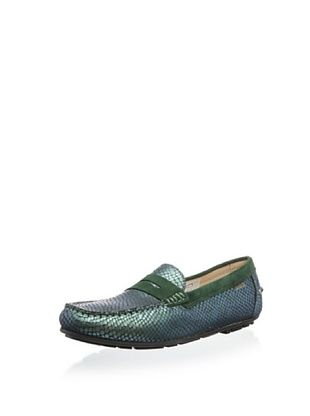 50% OFF W.A.G. Kid's Embossed Loafer (Green)