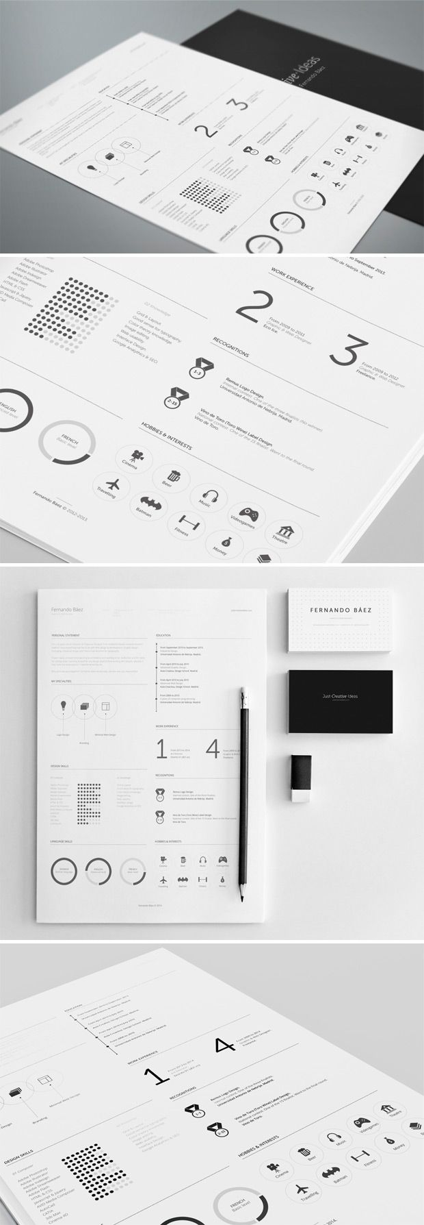 32 best CV\'s images on Pinterest | Cover letters, Creative resume ...