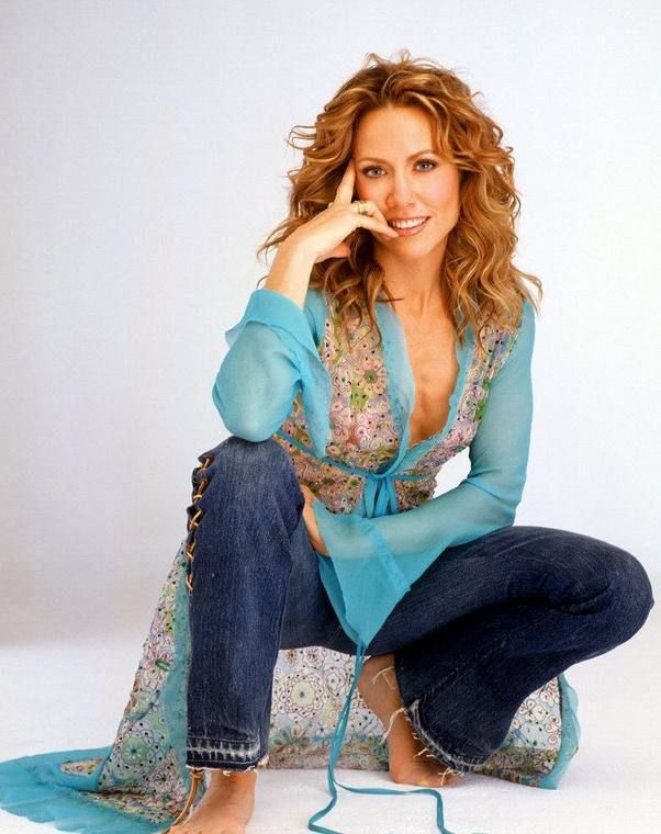 Sheryl Crow - she gets better looking with age. Love her!