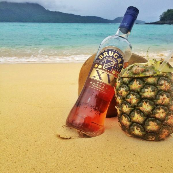 Spiked Pina Colada - Amazing Food and Travel Pics from the Dominican Republic