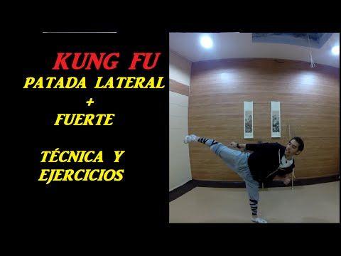 Entrenamiento Patada Lateral | Técnica y ejercicios | Shaolin Huwei - YouTube