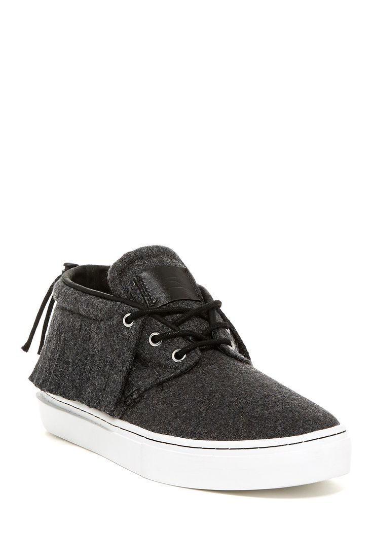 The One-O-One Mid Top Sneaker by Clear Weather on @HauteLook