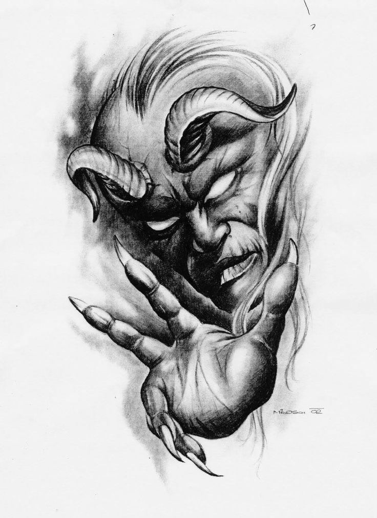 Картинки тату демон