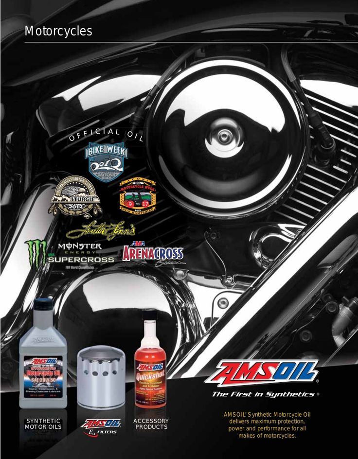 17 best images about amsoil synthetic motorcycle oil on for Motor oil for motorcycles
