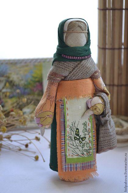 """Народные куклы ручной работы. Ярмарка Мастеров - ручная работа кукла Успешница""""Черёмушка"""".. Handmade."""