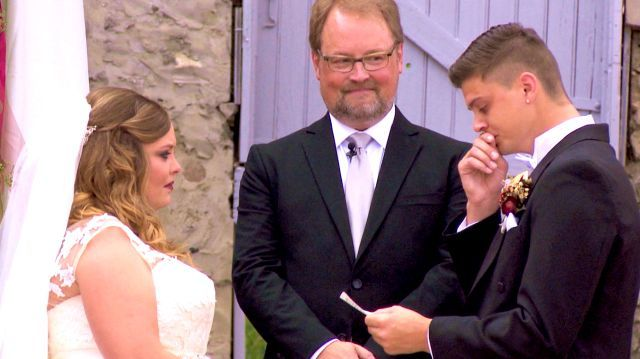 Tyler's wedding vows!!! Watch video clips online from Teen Mom, (S5, E15