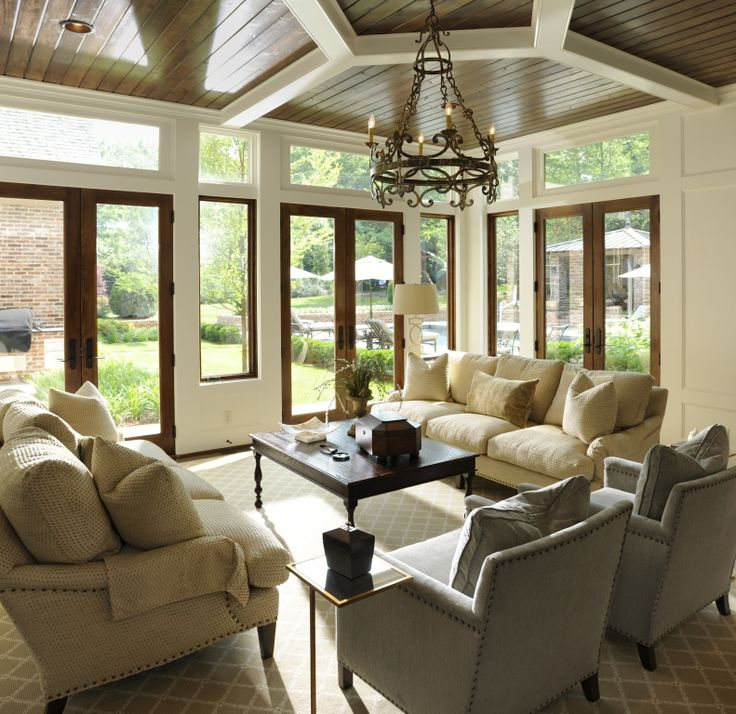 17 Best Images About Sunroom Inspirations On Pinterest Shiplap Ceiling Window And Porches