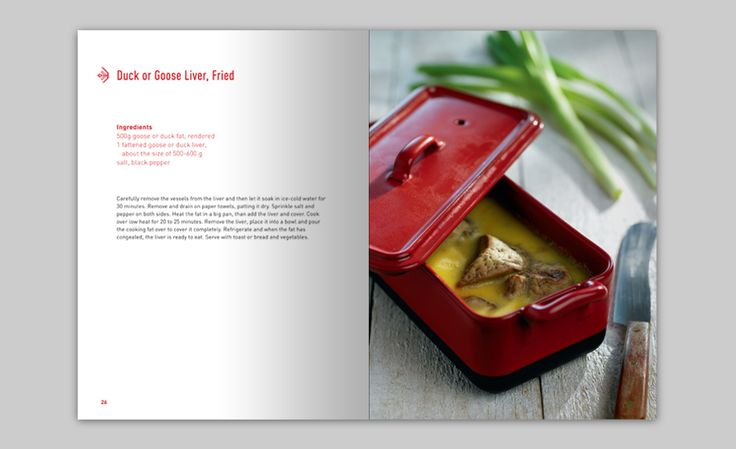 Hungarian Cookbook, recipe of the famous Hungarian Goose Liver.... edited & published by us!  www.boook.hu