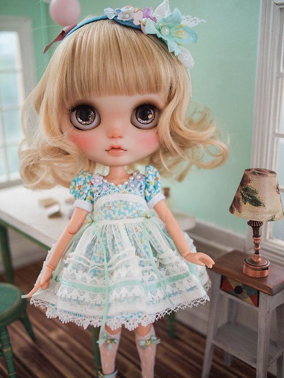 Juju's*Blythe outfit flower of summer