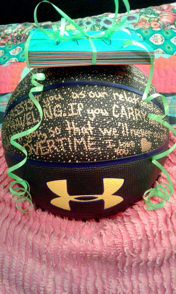 You DRIBBLED your way into my heart, and managed to to STEAL it all away. You've BLOCKED me from the evil, and i can never PASS you away. I'll always ASSIST you as our relationship keeps TRAVELING. If you CARRY me I'll CARRY you, so that we'll never go into OVERTIME. Basketball gifts for Boyfriend.