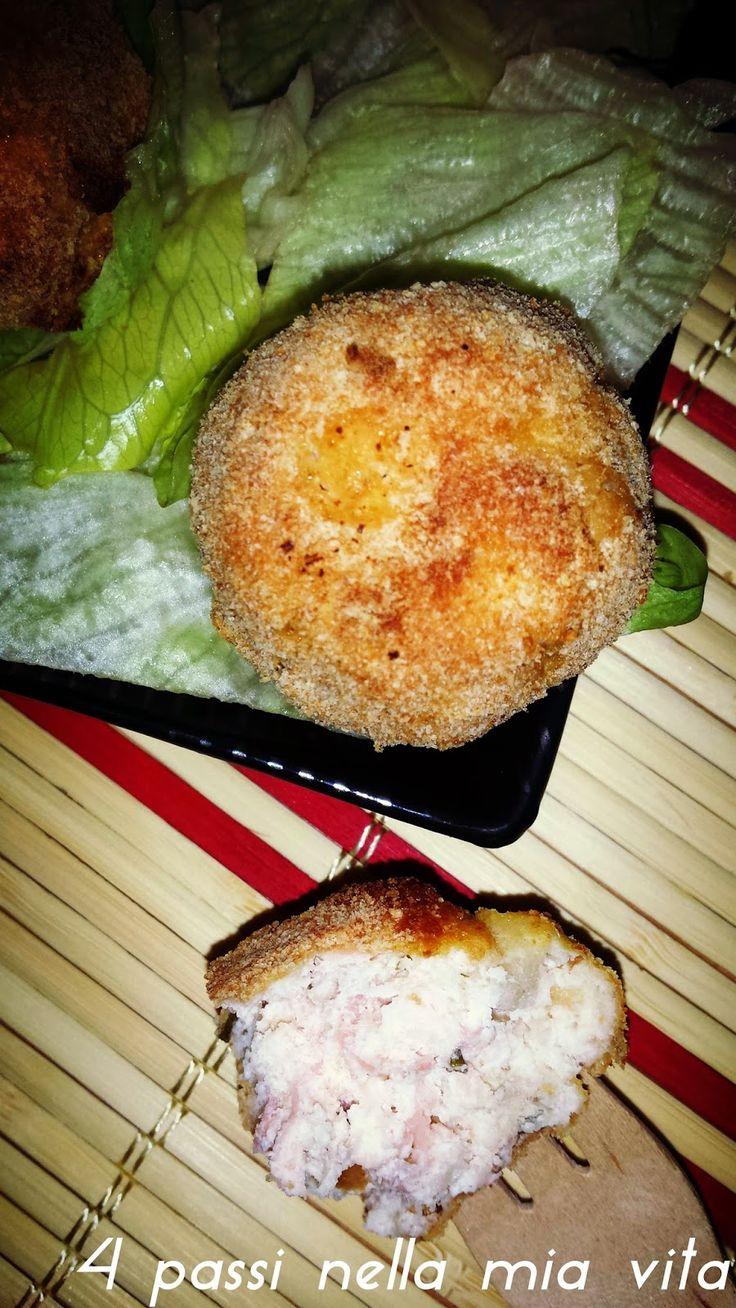 4 passi nella mia vita: Secondi piatti: Polpettine di ricotta e salmone al forno