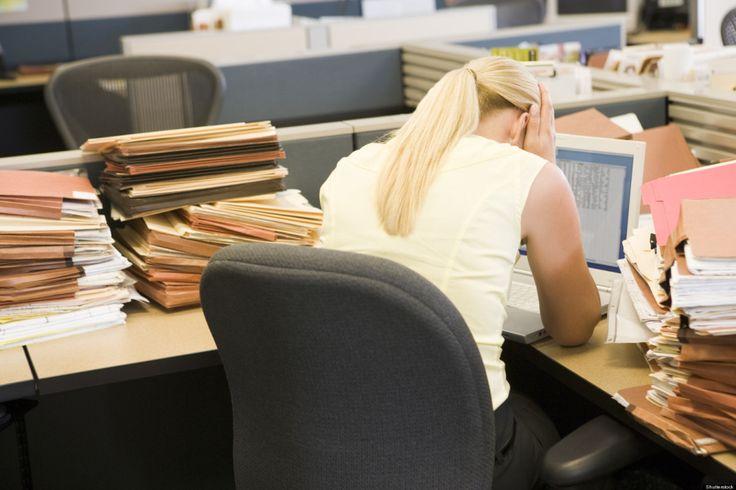 Inilah 6 Cara Mengatasi Stress Kerja Dengan Mudah