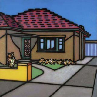 Stucco home, 1991 - Howard Arkley