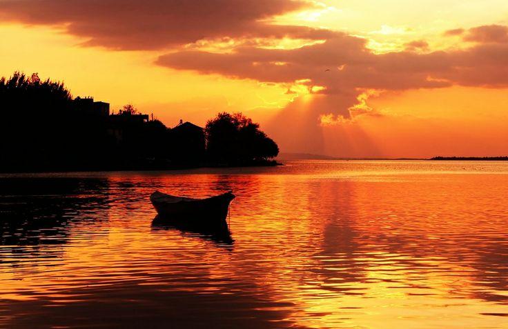 "Waiting for the sun by Ahmet Utgan; ""Apollonia-Matress"" Turkey"
