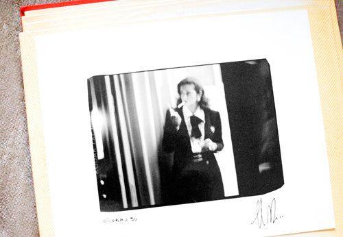 Rosella Jardini, the artistic director for Moschino. (1990)