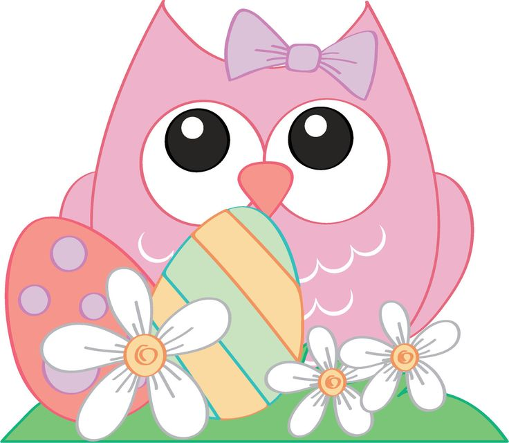 free easter owl clip art - photo #28