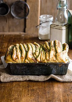 Best-ever tear-and-share garlic bread