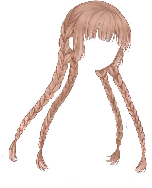 Anime Hairstyles For Girls With Long Hair