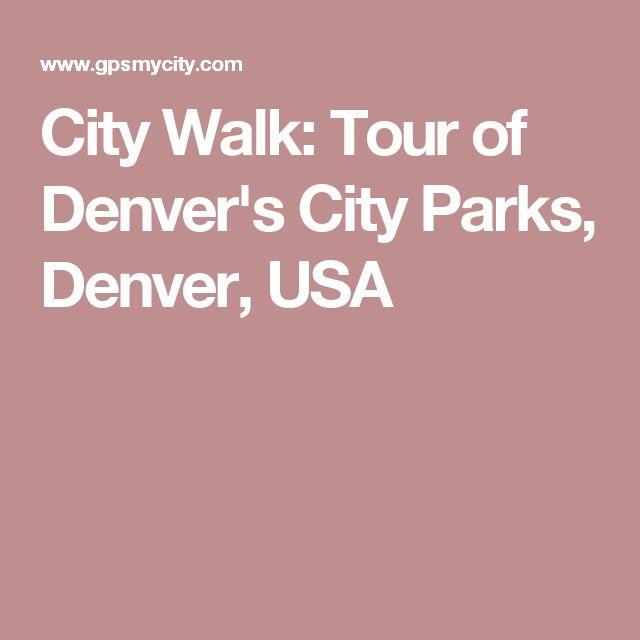 City Walk: Tour of Denver's City Parks, Denver, USA