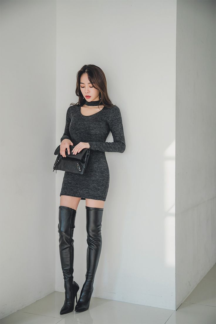 Lastest Asian Women Wearing Boots With Perfect Creativity | Sobatapk.com