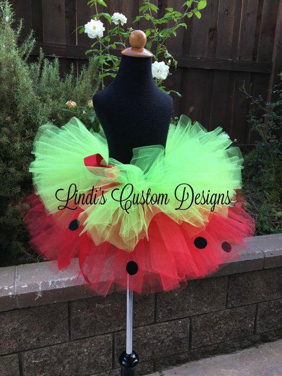 Strawberry Tutu Pageant Birthday Halloween by sweethearttutus