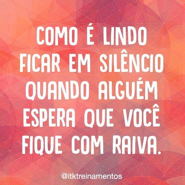 Só exige prática! #regram @itktreinamentos #frases #paciência #silêncio #itktreinamentos