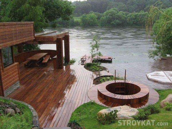 Встраиваем баню в дизайн участка - Участок, сад, огород, дача - Ландшафтный дизайн