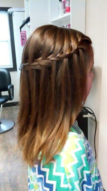 Waterfall braid by Katie Best