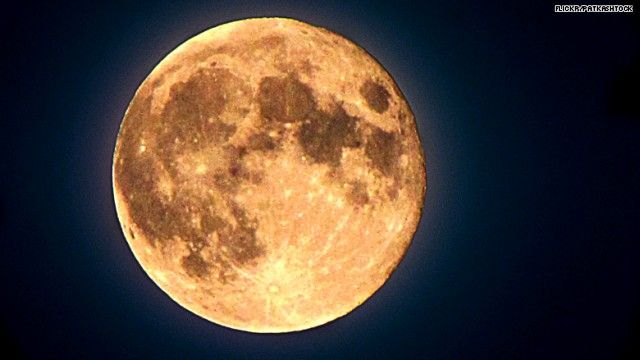 """June 13th, 2014 features a """"Honey Moon"""" or as some call it a """"Strawberry Moon"""".  It's called a 'Honey Moon' because its low position in the sky can give it a warm tint.  'Strawberry Moon' hasn't happened on Friday the 13th since 1919 and won't happen again until June 2098."""