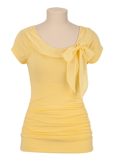 Tie Front Cap Sleeve Top - maurices.com