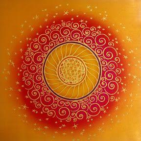 mandala mayraSacral Chakra Orange, Mandalas Zentangle, Zen Dennings, Mandalas Mayra, Mandalas Chakra, Fractals Art, Artsy Fartsy, Ideias Quadros, Zentangle Doodles