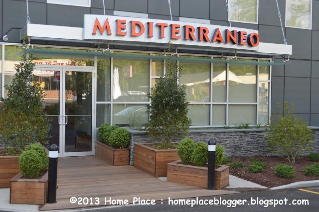 The Mediterraneo Restaurant at the Hotel Zero Degrees in