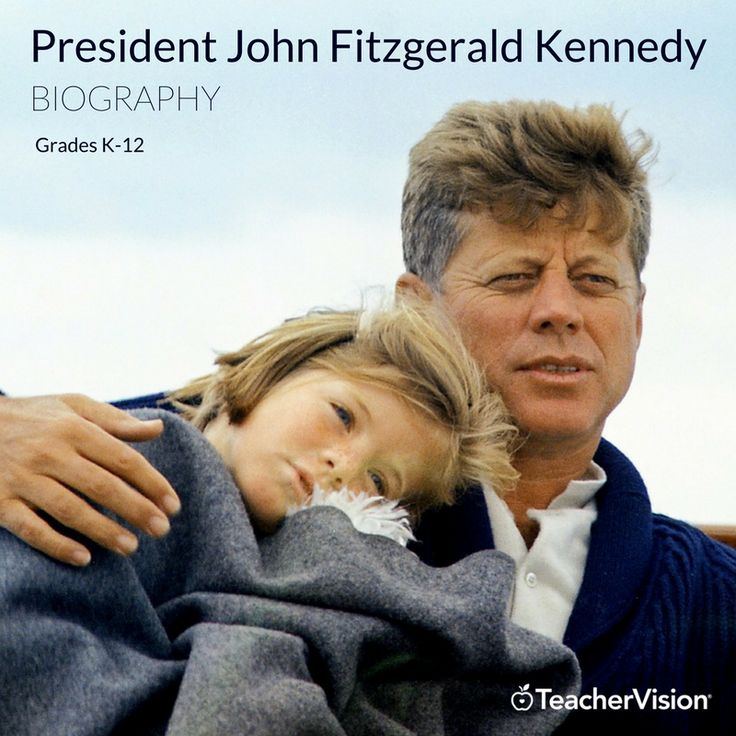 A biography of President John Fitzgerald Kennedy. (Grades K-12 - useful for Presidents' Day lesson planning.)