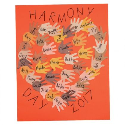 Harmony Day Poster - CleverPatch