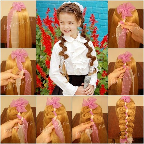 How to DIY Cute Loose Braid Hairstyle tutorial and instruction. Follow us: www.facebook.com/fabartdiy