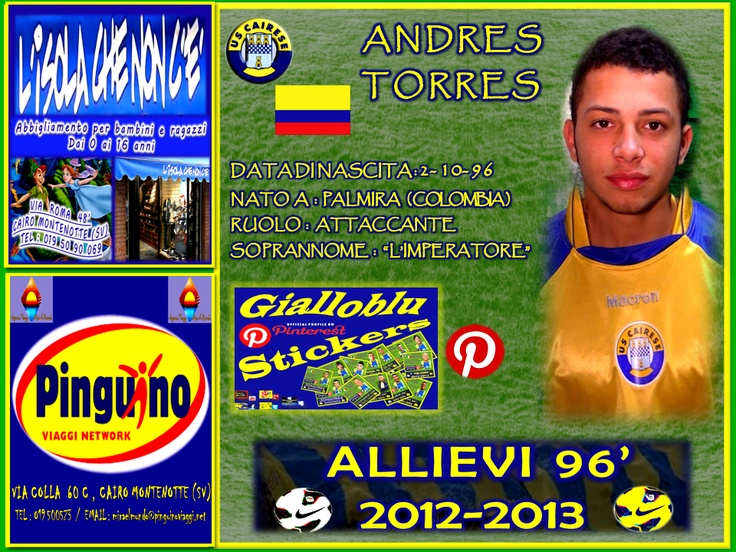 ANDRES TORRES  ATTACCANTE