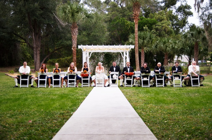 Adorable Wedding Party Photo. Ushers, kilts and all!