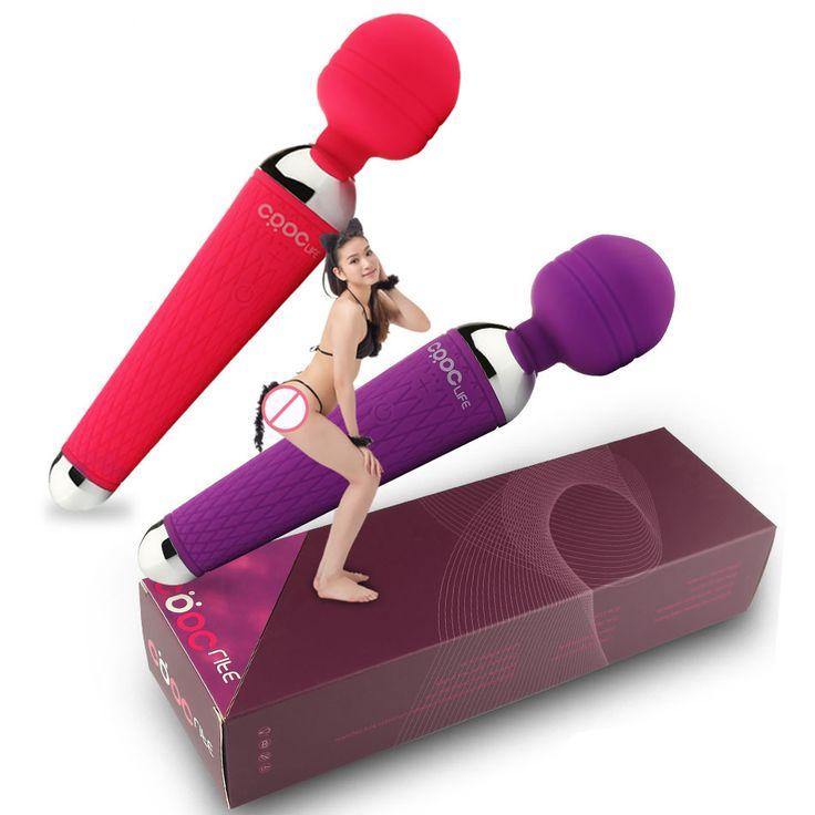 2016 Potente Orale Vibratori Clit per le Donne 15 Speed USB ricaricabile AV Magic Wand Massager Del Vibratore Giocattoli Adulti Del Sesso per donna